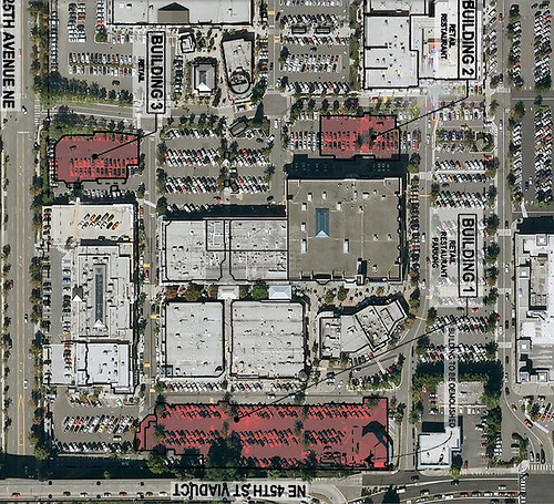 University Village Expansion Overhead Photo