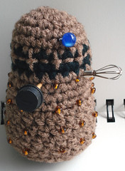 Crocheted Dalek - Exterminate!