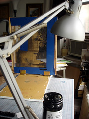 screen printing - work station
