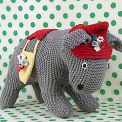Vintage Knit Donkey (LarkingAbout) Tags: vintage donkey knitted