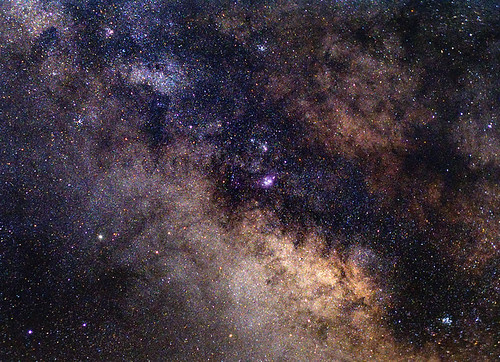 Milky Way on July 4th, 2008 (Reprocessed)