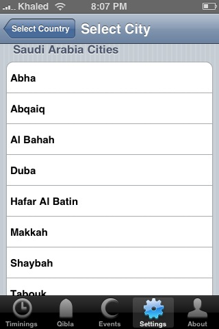 iPray on iPhone
