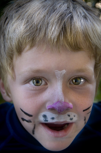Nicky with Face Painting