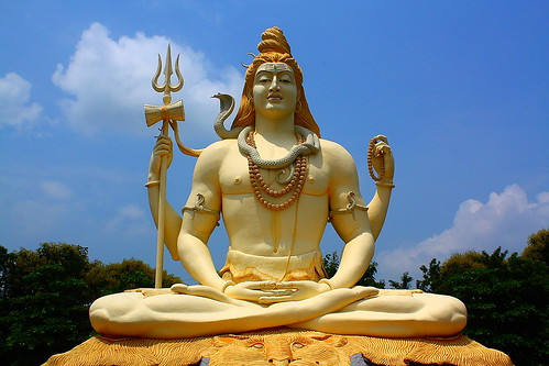 Lord Shiva, at Kachnar City in Jabalpur, India. [ Explored ]