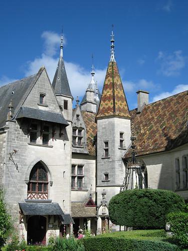 Chateau de la Rochepot - aout 2008