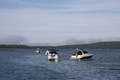 IMG_6428 (Frank Kloskowski) Tags: fog boats michigan grand island rolling in