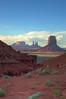 (Maud77) Tags: sunset arizona usa southwest sandstone tramonto navajo monumentvalley buttes arenaria ushighway163 siltstone navajonationreservation tsébiindzisgaii trip2007 siltite