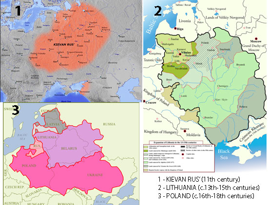 of Ukraine – it's a later addition tacked on during the Russian Empire.