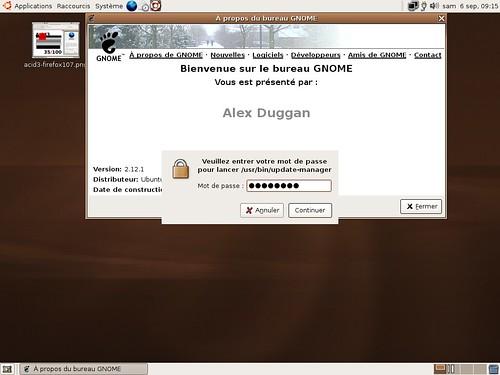 GkSu sous Ubuntu 5.10