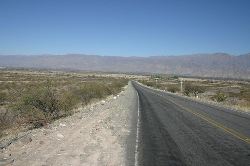 Open landscapes near Santa Maria, Argentina.
