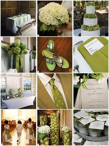 2847467380 6c5e712db5 141 ideias de casamento verde e branco