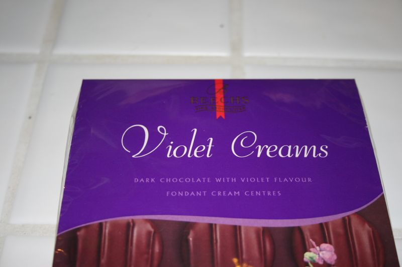 Box of Violet Creams