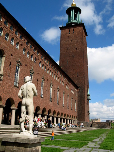 Stockholm City Hall - View after enterance