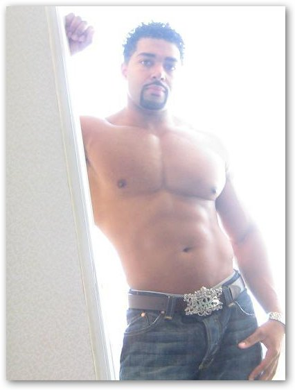 David Otunga Barechested