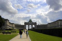 Bruselas - Parc du Cinquentenaire (Xver) Tags: parque brussels europa europe arc bruselas arco arcodeltriunfo parcducinquentenaire