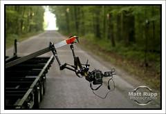 Laxi-Taxi XVI Setup (Matt Rupp) Tags: nikon trailer quantum d300 t5d pocketwizard strobist qflash wwwmattruppcom laxitaxi wwwfmmfgcom relaymode