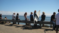 Pleasure Point Surf Crowd IMG_1396.JPG Photo