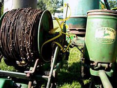 antique farming iowa agriculture johndeere froelich checkwire
