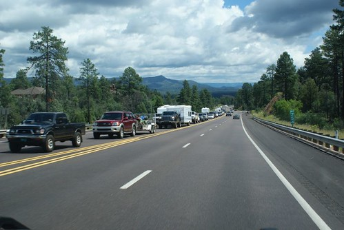 Payson holiday traffic