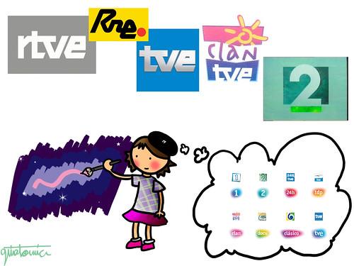 rediseño logotipos rtve