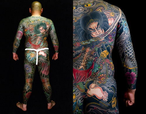 samurai tattoo Japanese tattoo