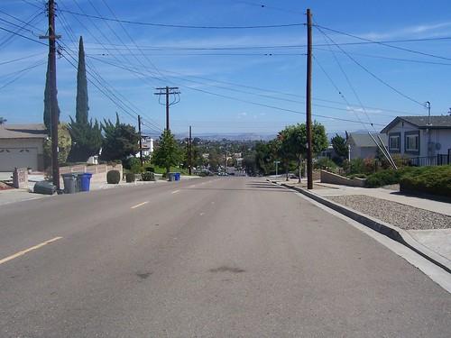 El Paso hill east