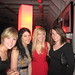 leah, melody, me, amy at Garrett's 30th