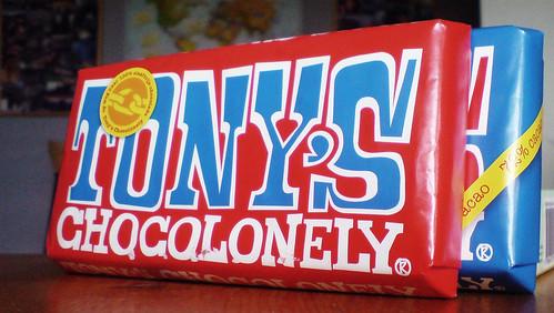 400  gram FairTrade Chocolade