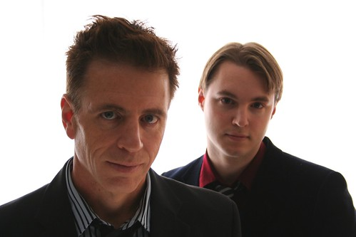 Dave Hoskins (left) and Matt Quarterman of LYRE