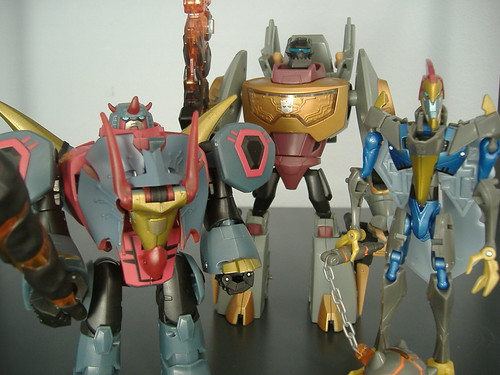 Animated Dinobots