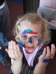 self face painting