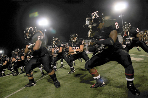 Photographer Sports Haka Trinity High School Trojans Euless    Euless Trinity Football Stadium