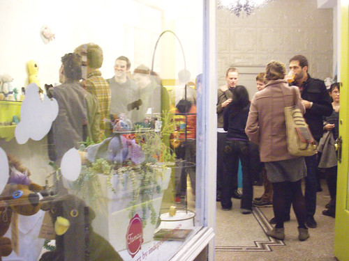 Fancy is packed at the opening of Plush You.