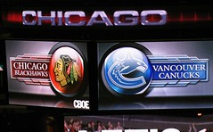 Blackhawks vs. Canucks - 10/19/08
