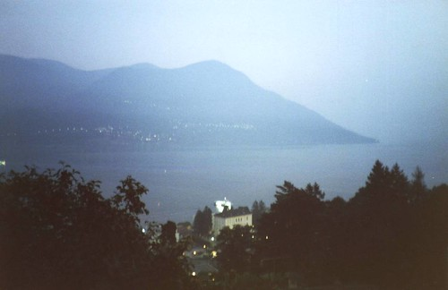 Lake of Locarno towards Brissago