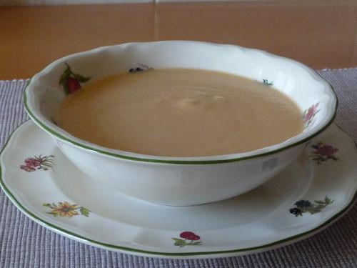 Crema de pescado (calabacín con gambas) 2967471208_9aacab06f2