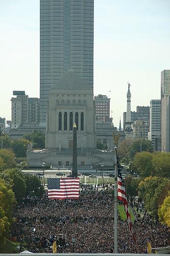 Indianapolis Obama Rally