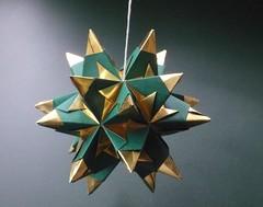 Bascetta Star (hannelore1302) Tags: origami paperfolding modularorigami kusudama bascetta
