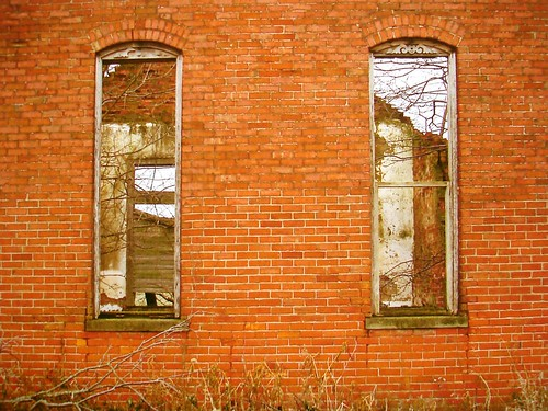 Schoolhouse windows