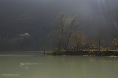 Lago di Barcis (linkley82) Tags: autumn italy panorama mountain lake nature lago natura montagna paesaggio barcis d40