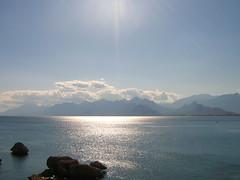 prachtige zee in Antalya