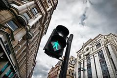 Traffic Light in Glasgow (Semi-detached) Tags: road street city light red man green lines st scotland cityscape crossing traffic glasgow buchanan zebra argyle merchant strathclyde enoch aplusphoto