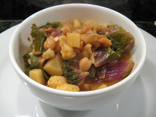 Chickpea Stew with Coconut Milk