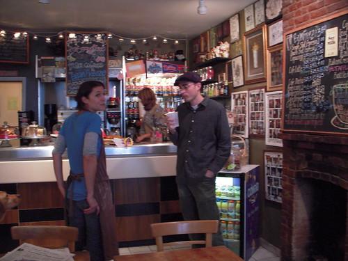 Joe Boruchow at Bean Cafe
