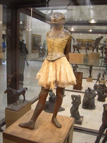 Edgar Degas,Pequeña Bailarina de 14 Años