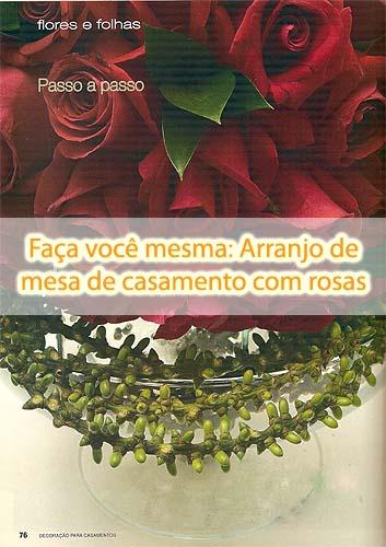 3050332434 5df61ca718 o d Faça você mesma: Arranjo de mesa de casamento com rosas