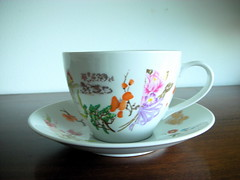 Large Tea Cup and Saucer