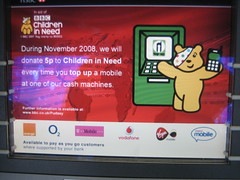 Top up for Pudsey (BBC Children in Need)