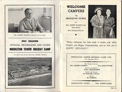 Middleton Tower Brochure 1955 -1 (trainsandstuff) Tags: 1955 vintage map archival brochure holidaycamp kamiya middletontower