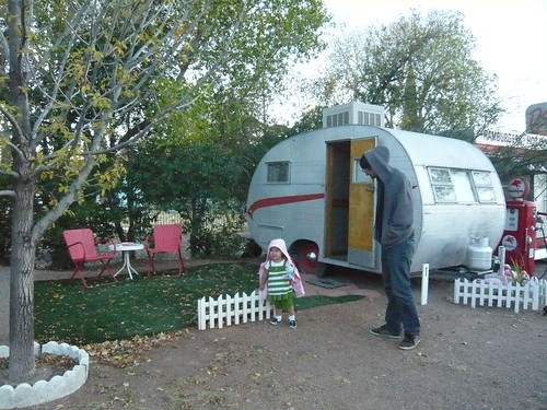 Vintage Trailer at the Shady Dell